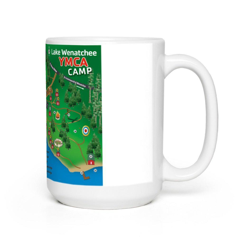 Lake Wenatchee Mug - Map Logo