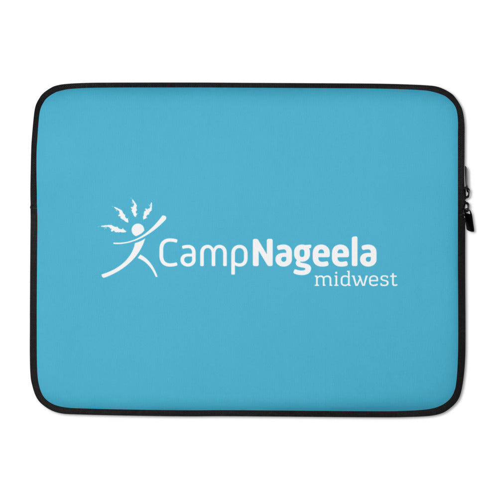 Nageela Midwest Blue Laptop Sleeve