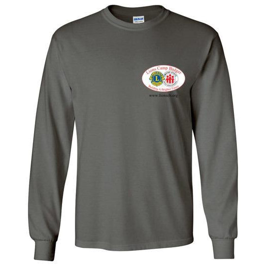 Lions Camp Badger Long Sleeve T-Shirt - Color Logo