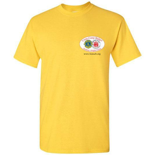 Lions Camp Badger Short Sleeve T-Shirt - Color Logo