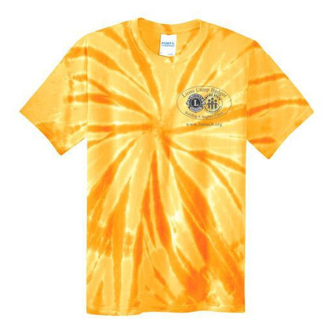 Lions Camp Badger Tie Dye T-Shirt - Black Logo