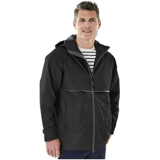Men's New Englander® Rain Jacket Charles River