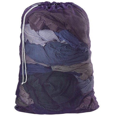 "Mesh Laundry Bag Super Jumbo 30"" x 40"" purple"