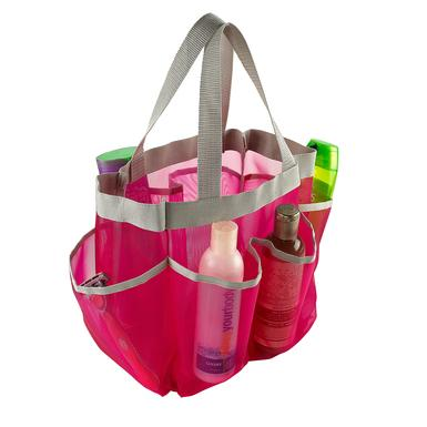 Mesh Shower Caddy Tote 7 Pocket