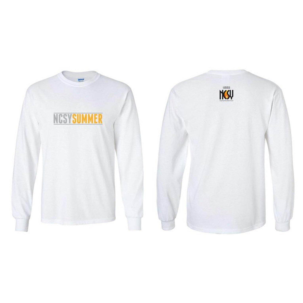 NCSY Summer Long-Sleeve T-Shirt - White