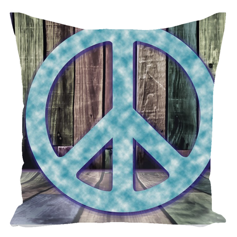 Peace Sign Autograph Pillow