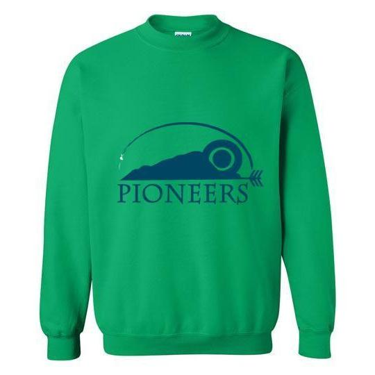 Pioneers Camp Crewneck Sweatshirt Green