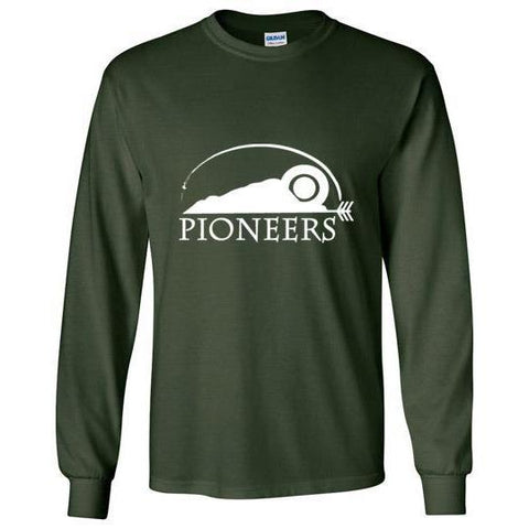Pioneers Camp Long Sleeve T-Shirt Forest Green
