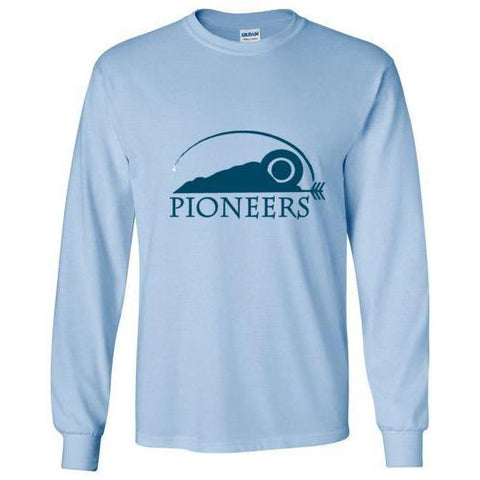 Pioneers Camp Long Sleeve T-Shirt Light Blue
