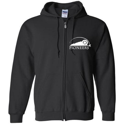 Pioneers Camp Zip Hoodie Black