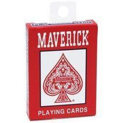 Hoyle Maverick Playing Cards red