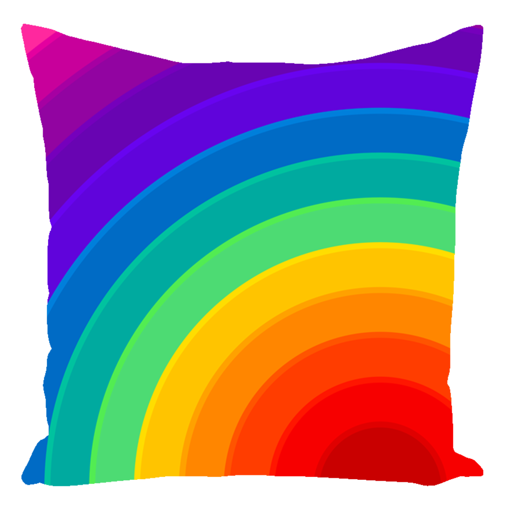 Rainbow Autograph Pillow