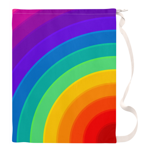 Rainbow Laundry Bag