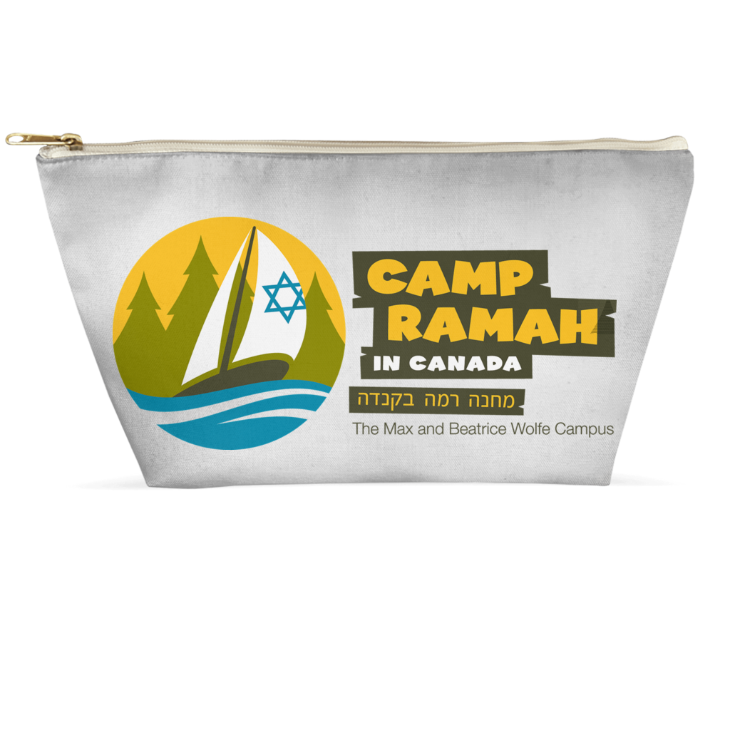 Ramah Canada Toiletry & Accessory Pouch
