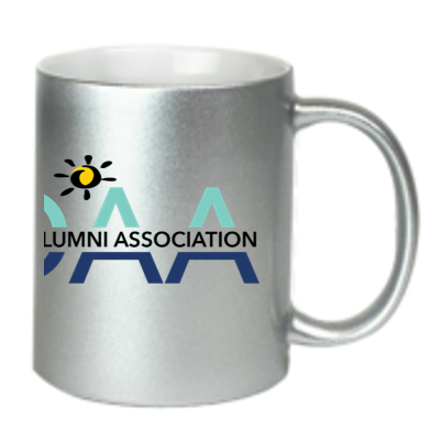 CRDAA Metallic Silver Coffee Mug