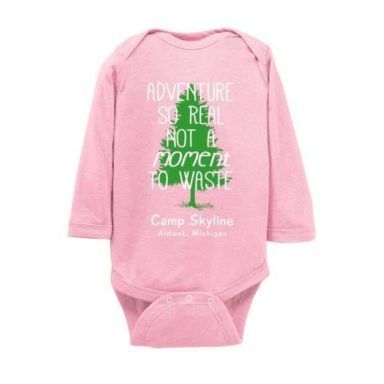 Skyline Adventure Long Sleeve Infant Bodysuit