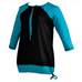 Swimtop & Rashguard - Drawstring Neck - 3/4 Sleeve
