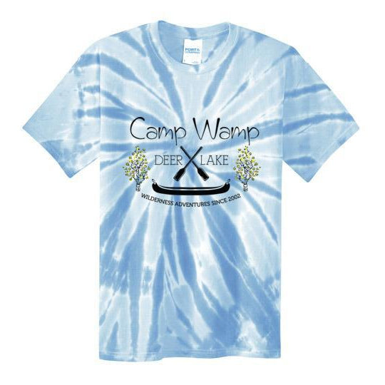 Wamp Tie Dye Short Sleeve T-Shirt