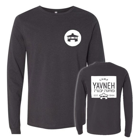 Yavneh Bella Canvas Long Sleeve T-Shirt - Medallion 2-Sided
