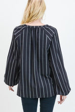 Stripe Ladder Trim Top