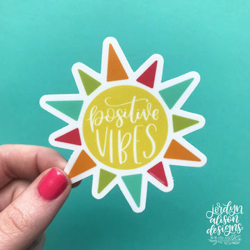 Positive Vibes, Vinyl Sticker