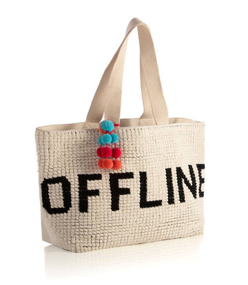 Offline Tote - Ivory