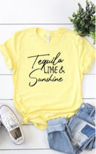 Tequila Lime & Sunshine Tee