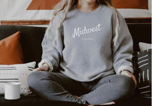 Midwest is Best Crewneck Fleece Sweatshirt