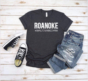 Small Town Big Charm Roanoke Tee