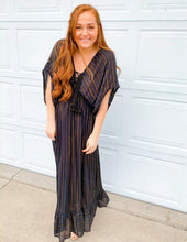 Obsidian Striped Maxi Dress