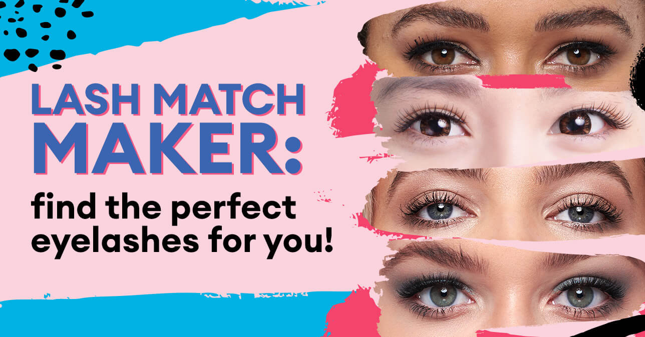 Lash match maker: find the perfect eyelashes for you!