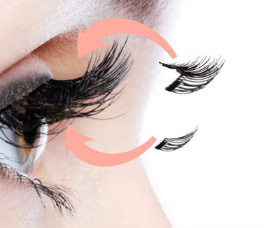 Dual Strip Magnetic Lashes