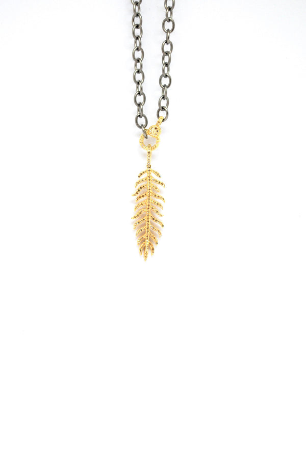 H Gold Feather