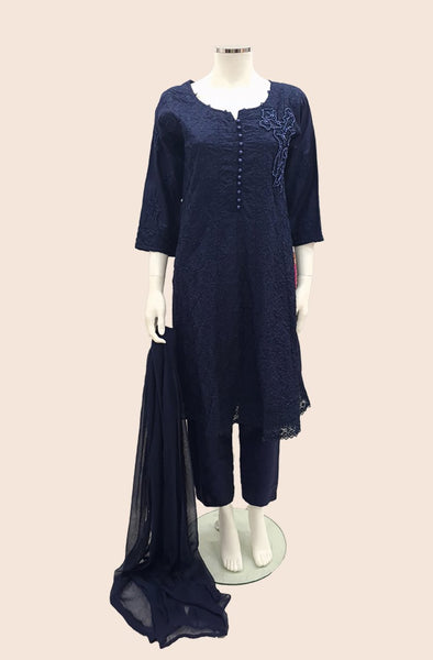 LL-LC07 NAVY CASUAL DRESS