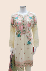 ARJ-AF-2 IVORY CASUAL DRESS