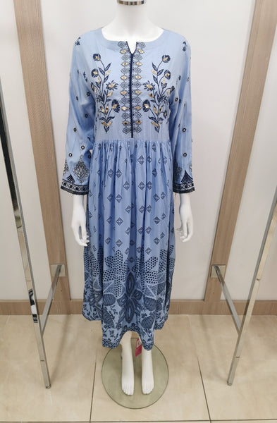 iyna womens casual wear long kurta
