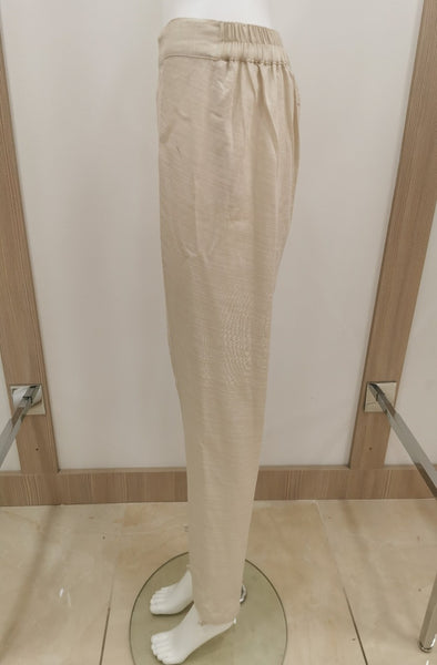 womens trousers pants shalwar cream