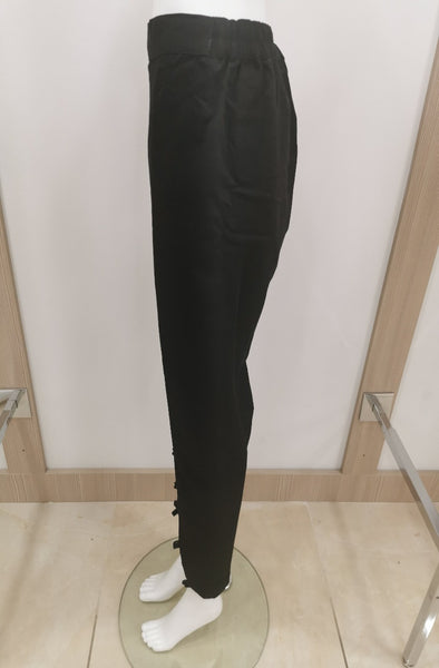 womens trousers pants shalwar black