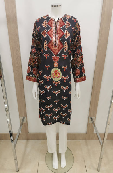 womens casual wear kurta by kayseria designer brand