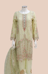 ARJ-AF4  SEMI FORMAL IVORY DRESS