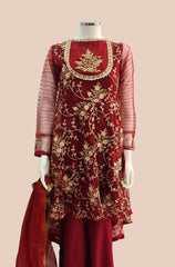 CASUAL  PARTY WEAR  SHALWAR KAMEEZ SJ-1056