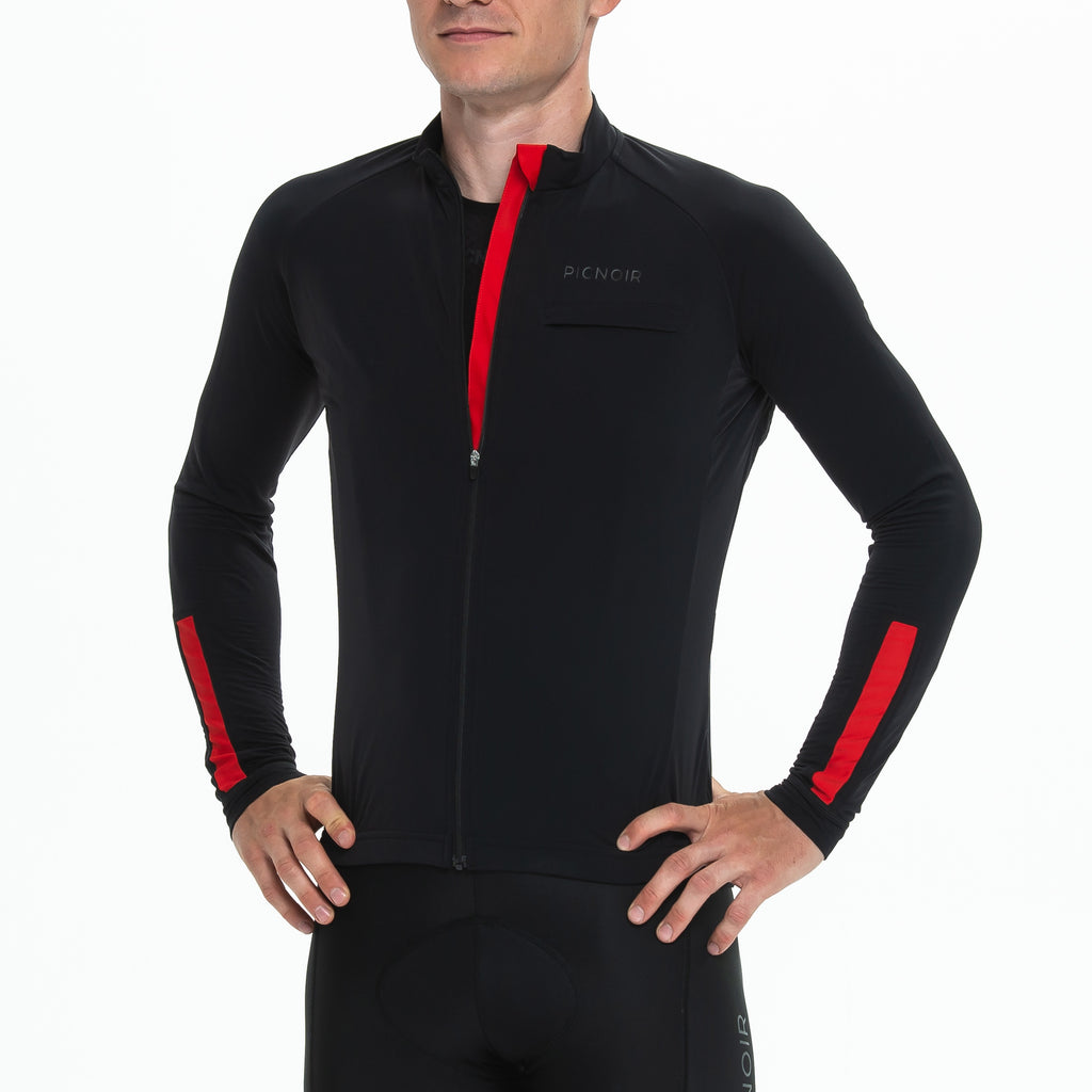 Langarm Thermo Training Trikot Männer