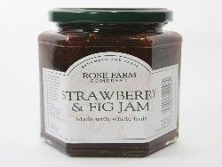 Rose Farm Strawberry & Fig Jam 340g