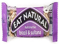 Eat Natural Brazils Sultanas & Almond