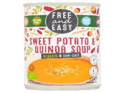 Free & Easy - Organic Low Salt Sweet Potato & Quinoa Soup