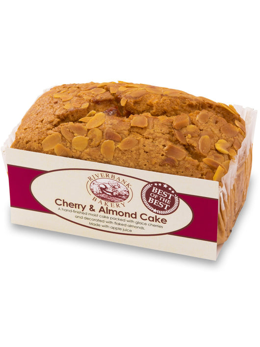 Riverbank Gluten Free Cherry Cake with Almond Flavouring