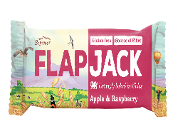 Flapjack Apple & rasperberry