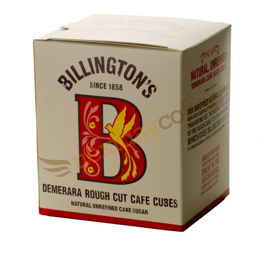 Billingtons demera rough cut cafe cube sugar