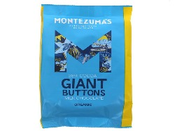 Montezuma's Organic Giant Milk Chocolate Buttons 180g