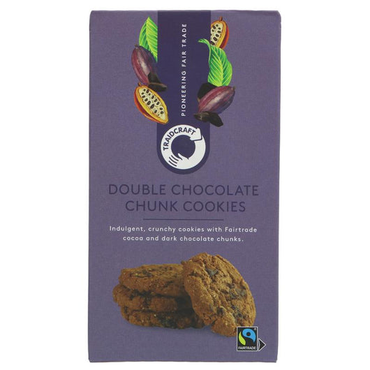 Traidcraft Double Chocolate Chip Cookies